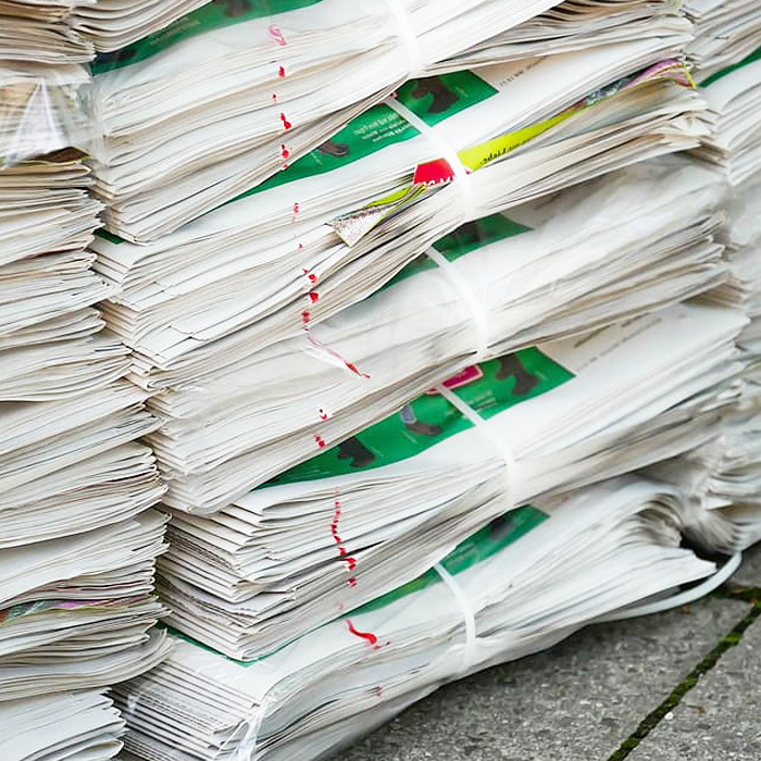 WHITE NEWSPAPER WASTE PAPER FOR RECYCLING PURPOSE