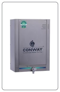 STAINLESS STEEL HOME WATER PURIFIER - CONWAY UV DLX