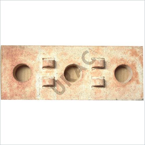 Grooved Element Refractory Bricks