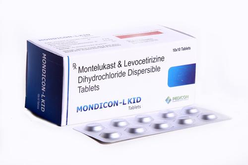 MONTELUKAST 4MG + LEVOCETIRIZINE HCI 2.5MG