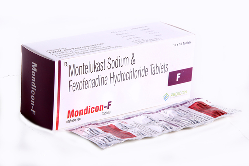 MONTELUKAST 10MG + FEXOFENADINE 120 MG