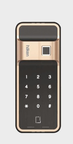 Haken Digital Door Locks- Hdl-R51 4 Way Rim Lock