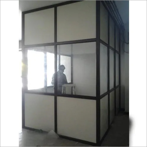 Aluminium Modular Glass Office Partition
