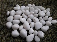 Indian White Pebbles Manufacture  For exterior deprecation