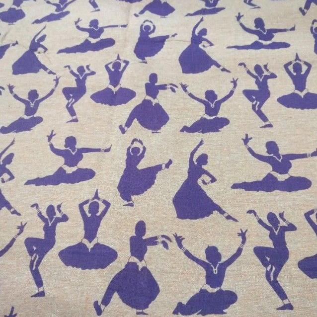 linen printed Fabric