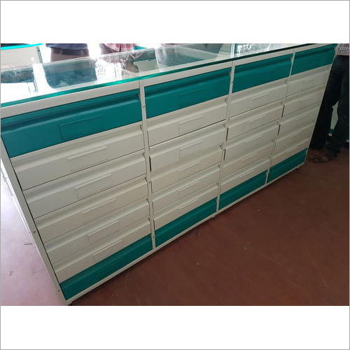 Medical Store Rack And Counter