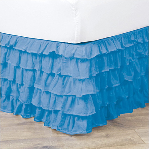 Dust Ruffued Bed Skirt