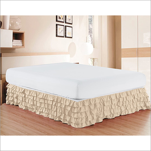 Multi Ruffued Bed Skirt