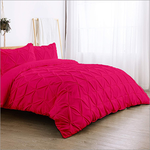 Pinch Pleated Duvet Set