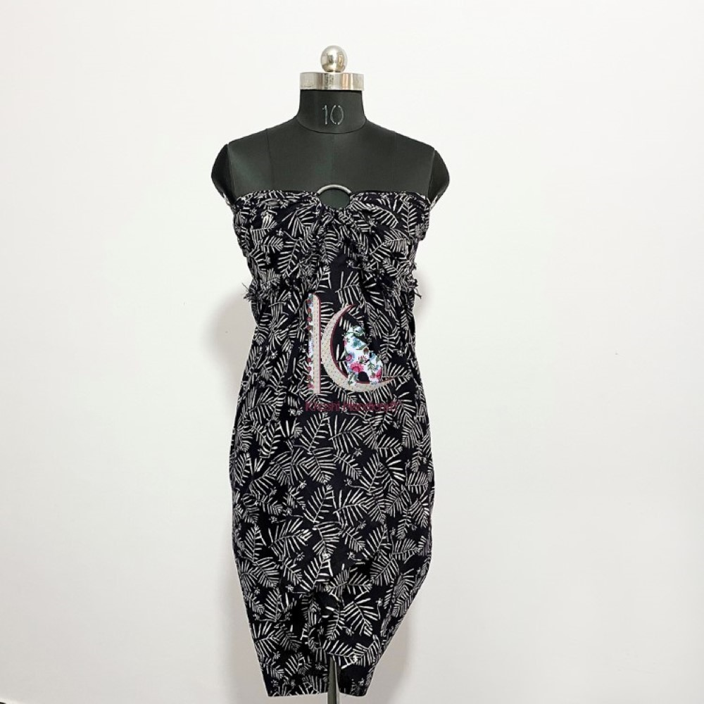 Pure Cotton Beachwear Dress For Women Light Weight Sarong