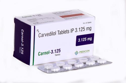 CARVEDILOL 3.125