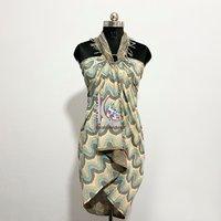 Wholesale Beachwear Cotton Hand Block Printed Sarong