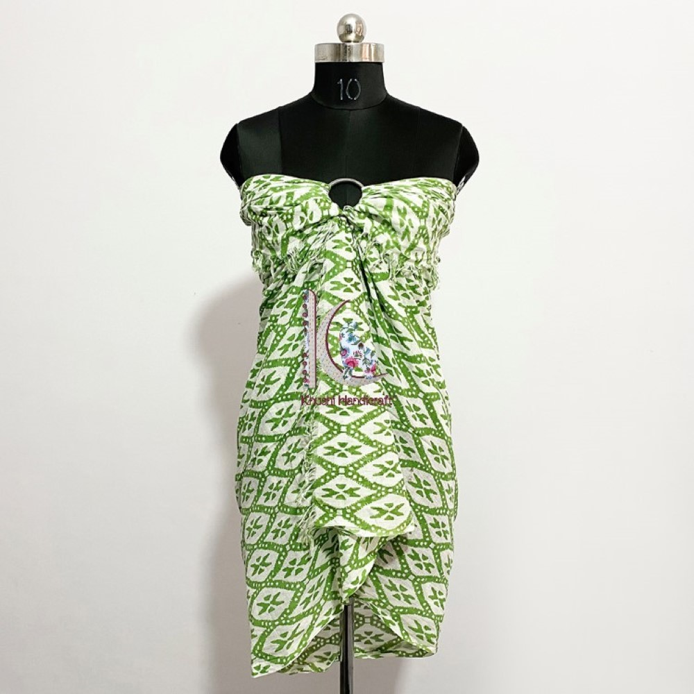 New Design Beachwear Cotton Dress Eco-friendly Sarong