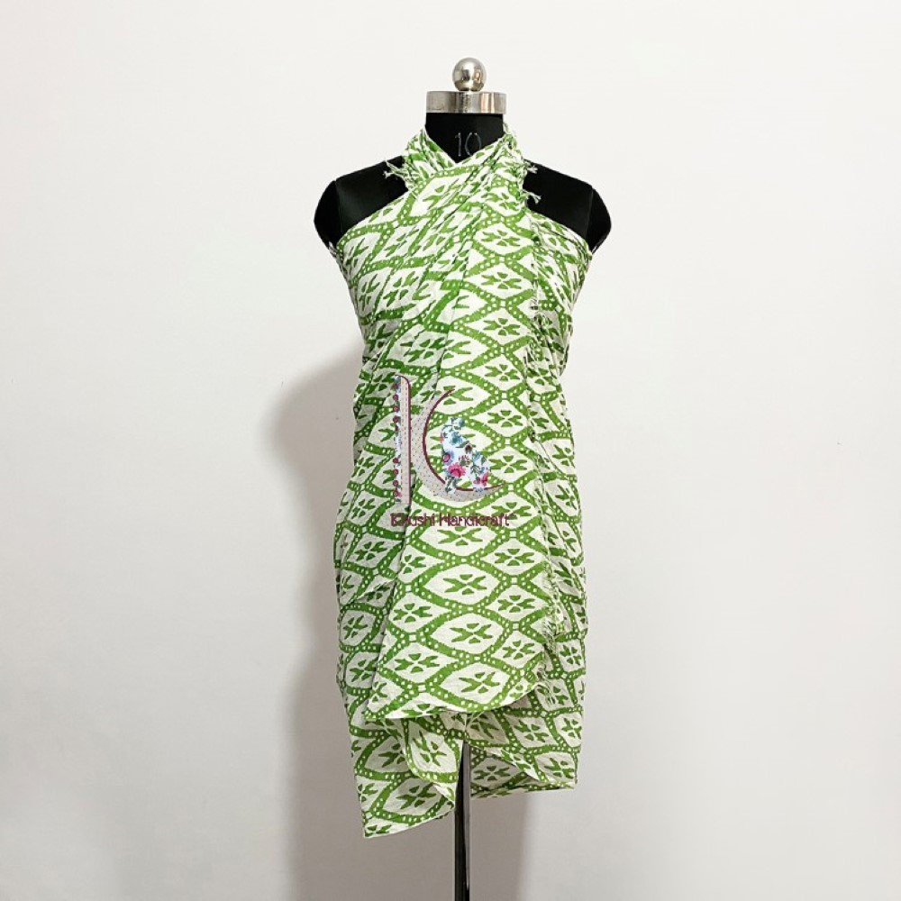 New Design Beachwear Cotton Dress Eco-friendly Sarong