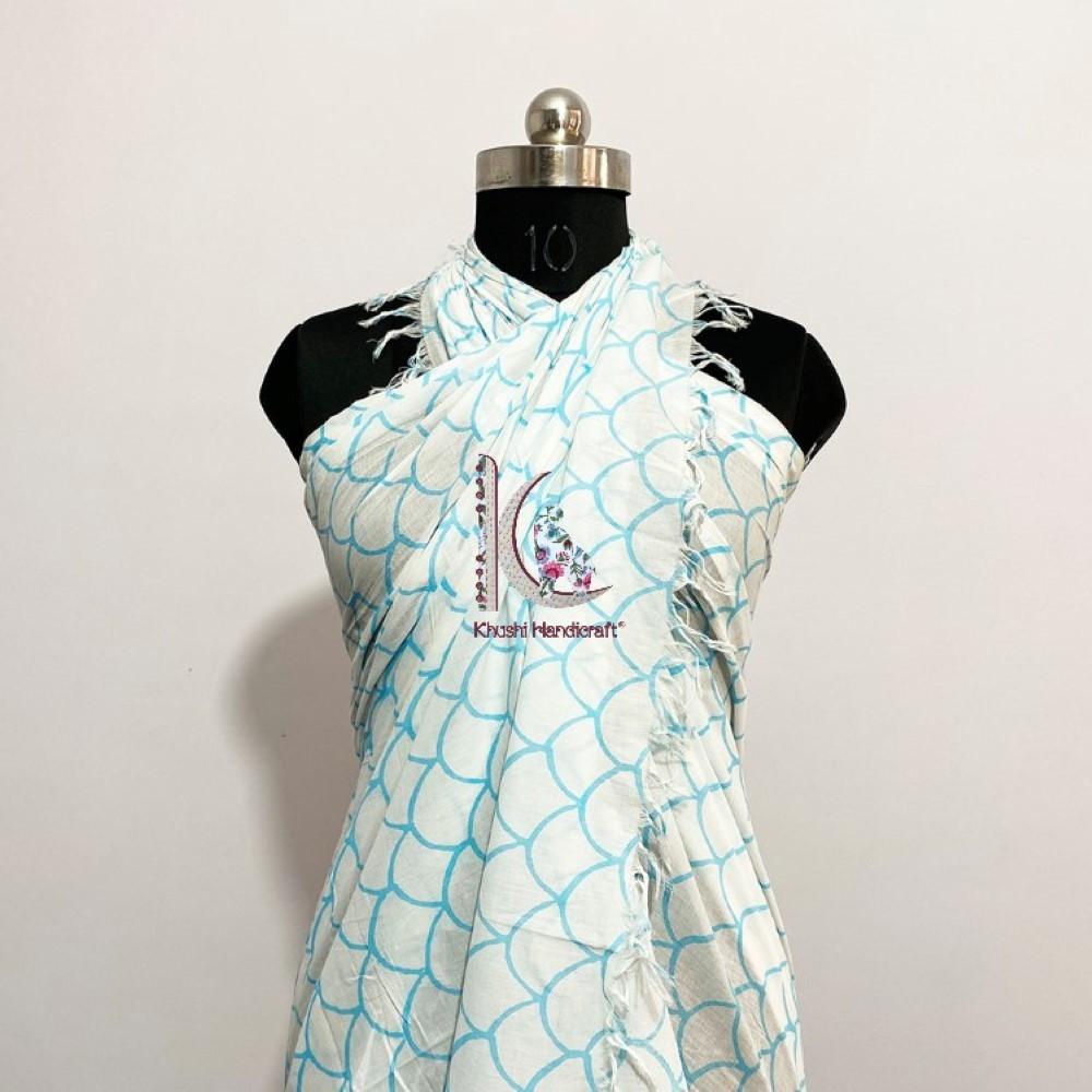 Soft Summer Beachwear Dress For Women Mermaid Pareo