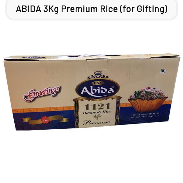 ABIDA Premium White Basmati Rice