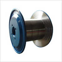 Double Platted Boxy Type Metal Spools