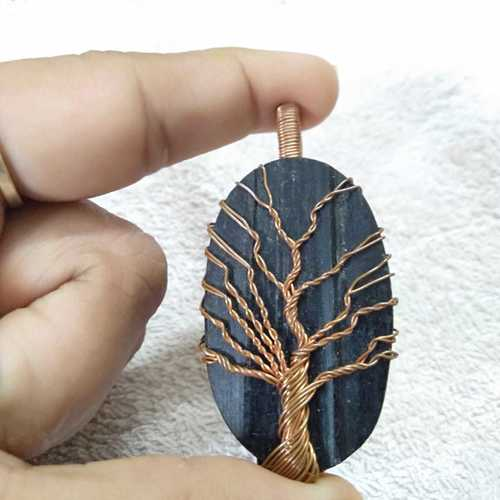 Wire Wrapping Tree Pendant