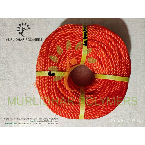 Red HDPE Monofilament Ropes