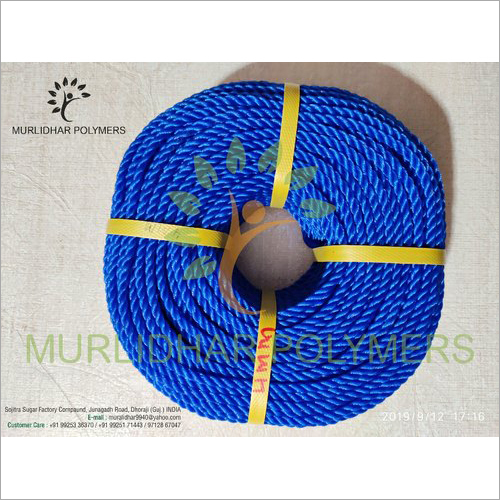 Blue HDPE Mono Ropes