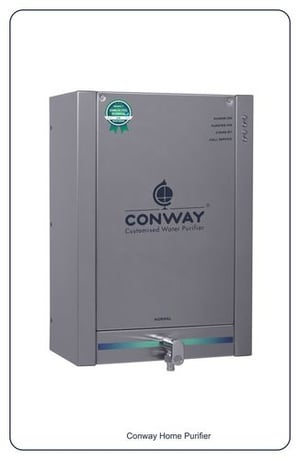 STAINLESS STEEL HOME WATER PURIFIER - CONWAY RO+UV 10 DLX