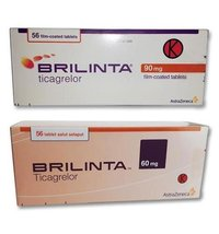 Brilinta (Ticagrelor 90 mg & 60 mg) Tablet