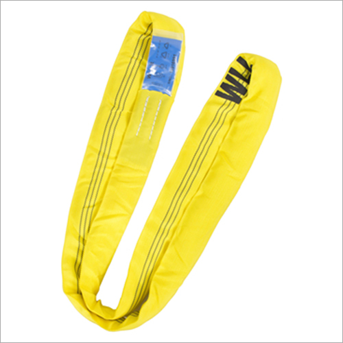 Yellow Polyester Webbing Sling