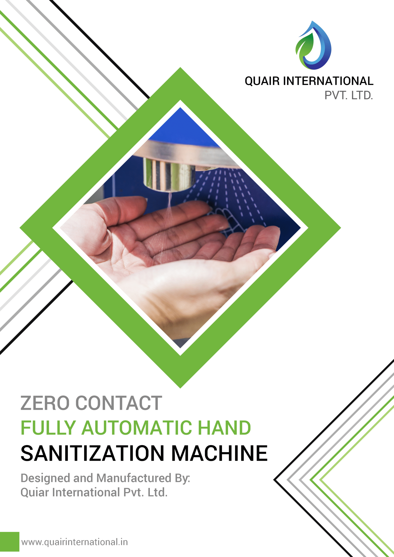 Automatic Hand Sanitizing Machine Stainless Steel