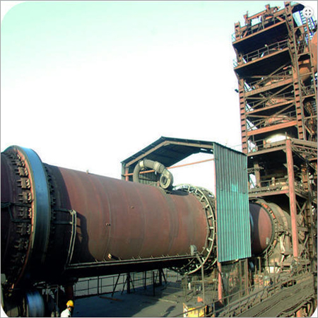 Rotary Kiln Coal Based DRI Plant