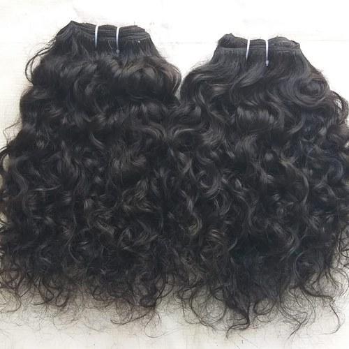 Raw Indian Curly Human Hair