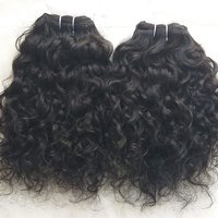 Raw indian curly human hair