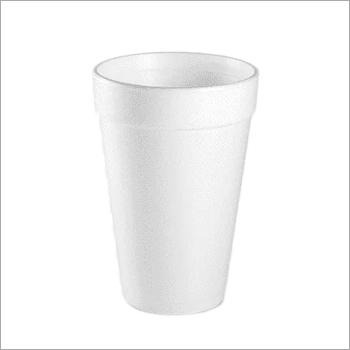 White Foam Disposable Paper Glass