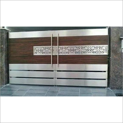 Laser Cutting Steel Gate
