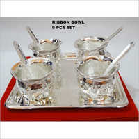 Ribbon Bowl 9 Pcs Set