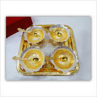 Brass Bowl 9 Pcs Set
