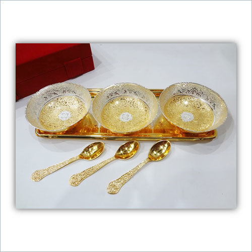 Brass Bowl 7 Pcs Set