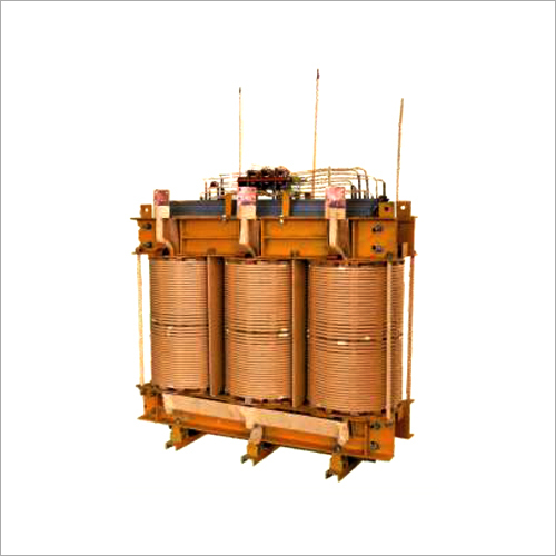 Inner View Of Distribution Transformer
