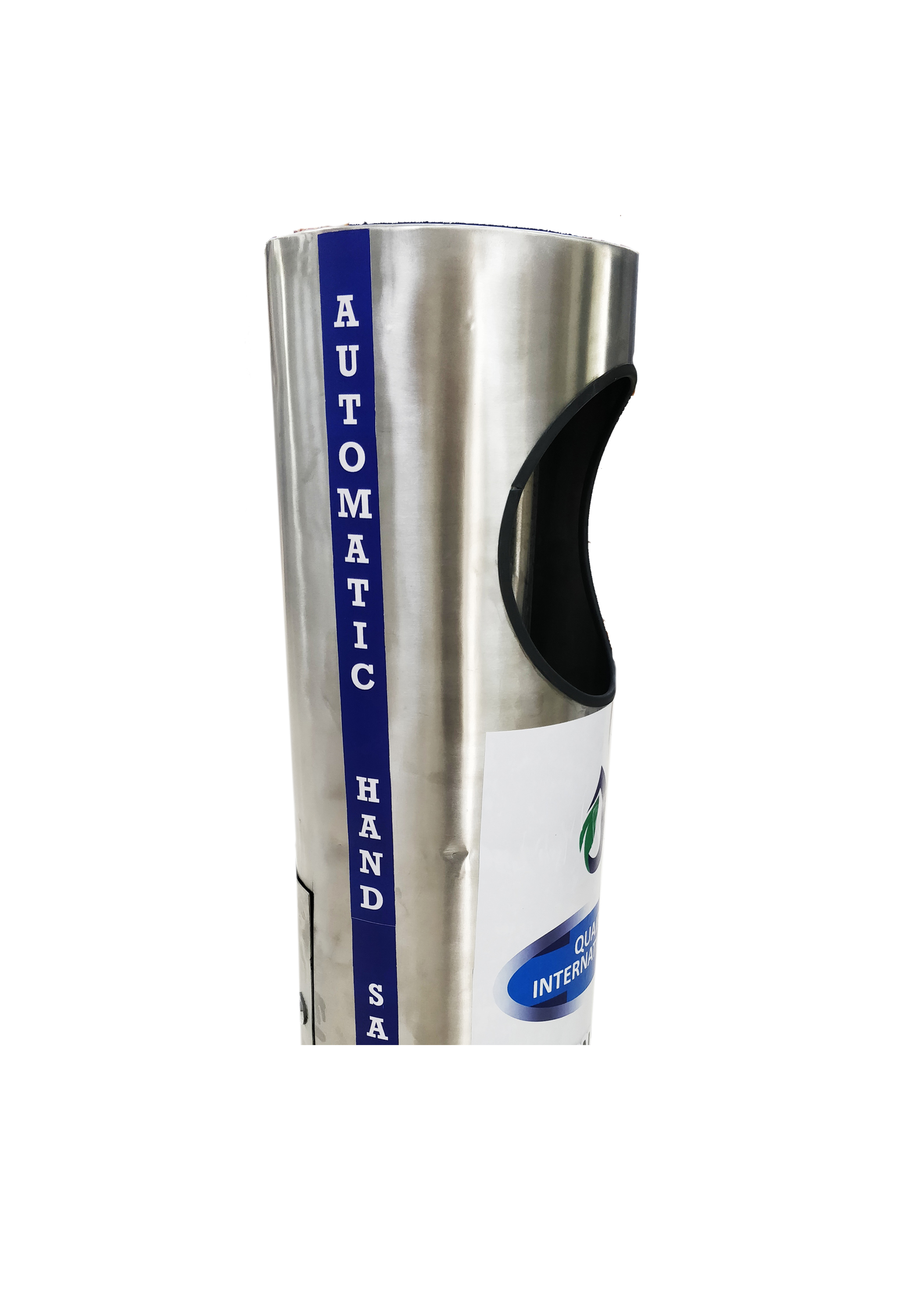 Automatic Hand Sanitizing Machine Cylindrical-Stainless Steel