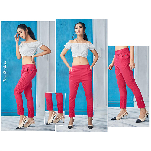 Ladies Cotton Jeggings