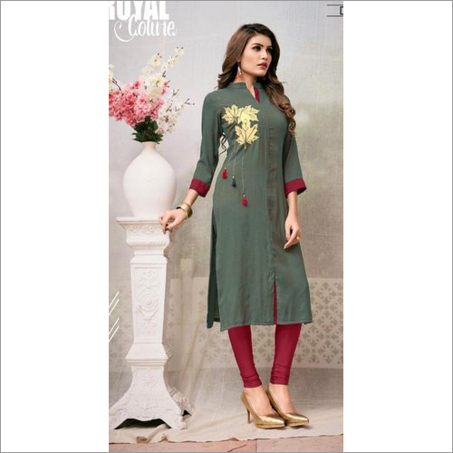 Ladies Stylish Cotton Kurtis