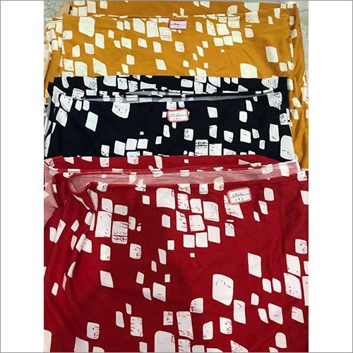 Lycra Brush Prints Fabric