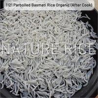 Organic 1121 White Sella Basmati Rice