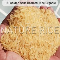 Organic 1121 Golden Sella Basmati Rice