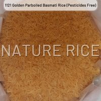 Organic 1121 Golden Sella Basmati Rice