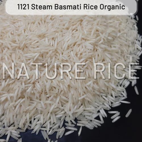 Organic 1121 Steam Basmati Rice