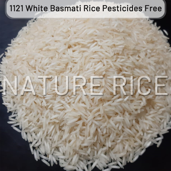 Organic 1121 Steam Basmati Rice