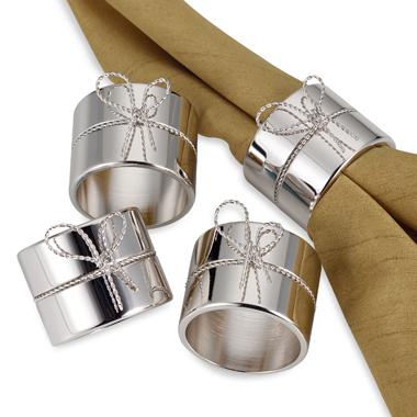 Fancy Silver Napkin Ring