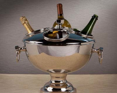 S.Steel Champagne Bowl