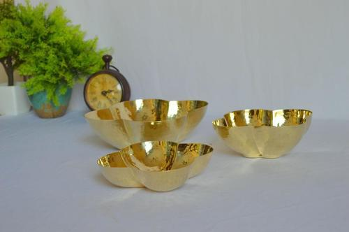 Brass Fancy Serving Bowl