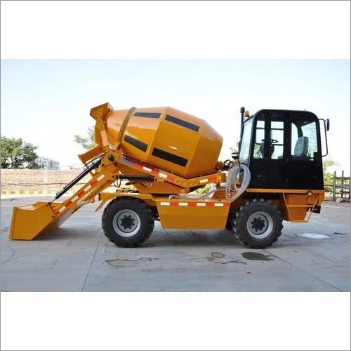 Self Concrete Mixer Machine